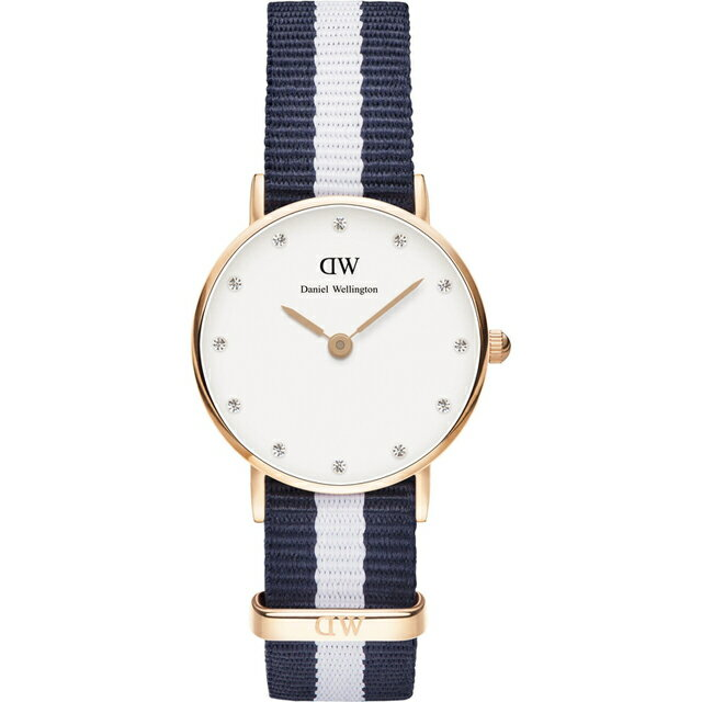【公司貨】Daniel Wellington DW 瑞典簡約風格 26mm /Swarovski/水晶 / DW00100066