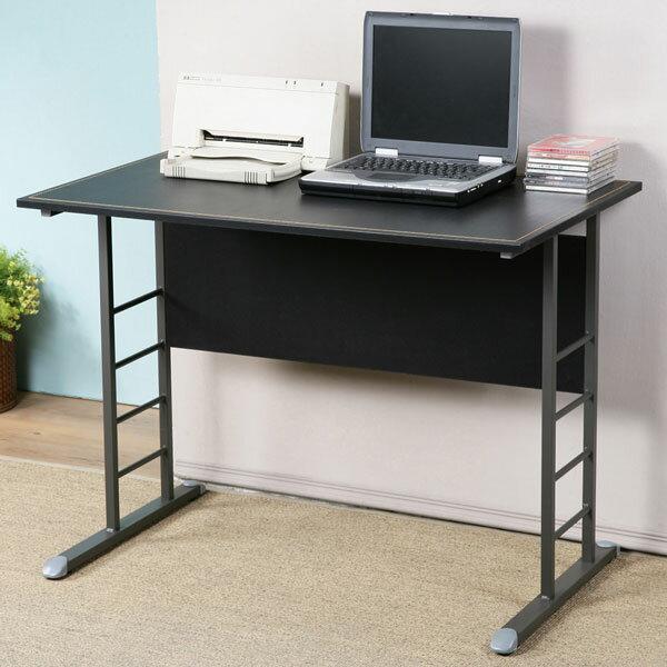 書桌 工作桌 辦公桌 電腦桌《YoStyle》馬克100cm辦公桌-仿馬鞍皮(二色可選)