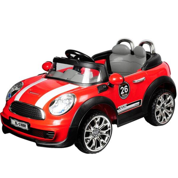 寶貝樂mini附遙控兒童電動車-紅色(BTRTD1688R)