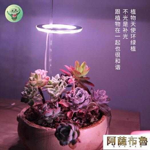 植物燈 植物補光燈全光譜led仿太陽燈上色室內家用usb食蟲植物多肉補光燈  雙十二特惠 聖誕節交換禮物