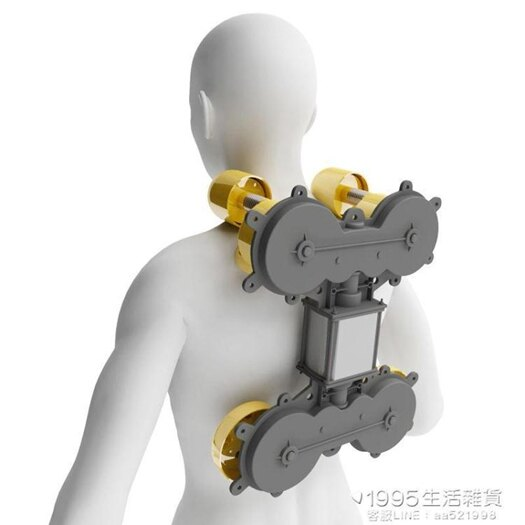 多功能肩頸按摩器背部腰部頸椎按摩器家用全身脖子揉捏車載辦公枕 1995生活雜貨NMS