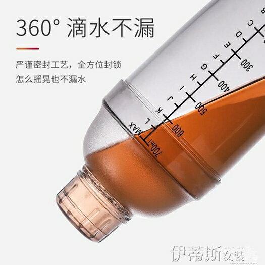 調酒器雪克杯手搖搖杯帶刻度調酒器套裝奶茶店用品專用雪克壺500cc商用 夏季新品 五一特惠