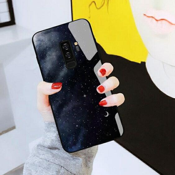三星S9手機殼三星s9 保護套男款玻璃s9新款全包防摔個性『櫻花小屋』