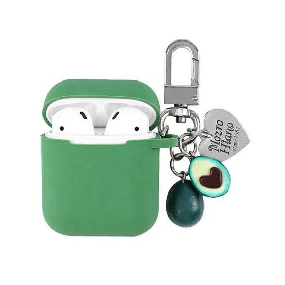 牛油果airpods2保護套韓國ins掛件蘋果無線藍芽耳機硅膠盒子殼潮 英賽爾3C數碼店