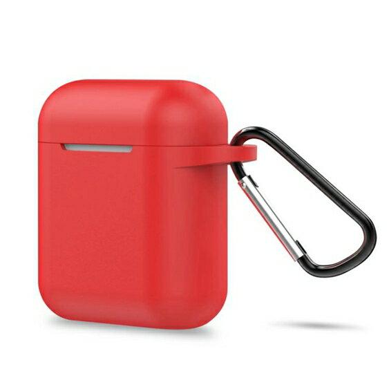 保護套    AirPods保護套蘋果無線藍芽耳機個性防滑收納包防丟繩硅膠套 英賽爾3C數碼店