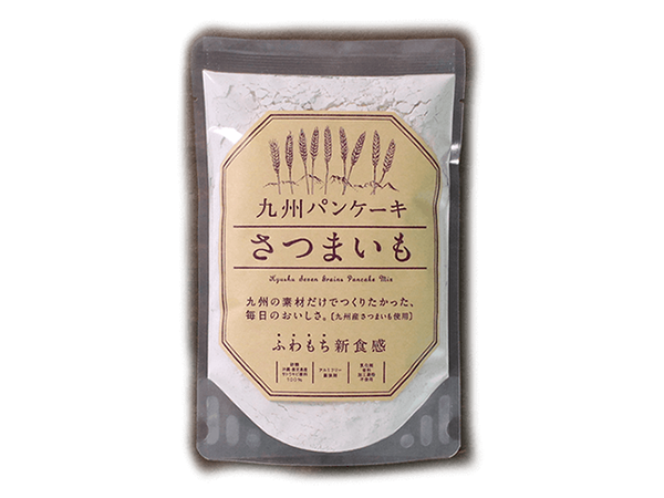 日本必買免運代購-日本Kyunan九州甘薯薄煎餅粉1517。共1色