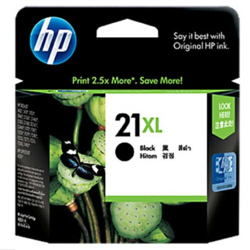 【HP 墨水匣】C9351CA /NO. 21XL 高容量原廠黑色墨水匣