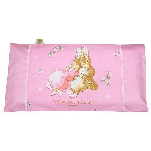 121婦嬰用品館:『121婦嬰用品館』狐狸村彈力紓壓透氣嬰兒枕-粉