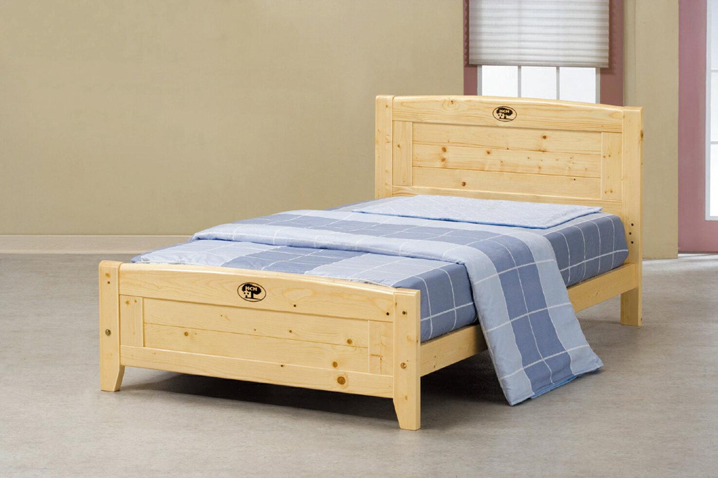【 IS空間美學 】北歐松木3.5尺單人床(4分床板/不含床墊)