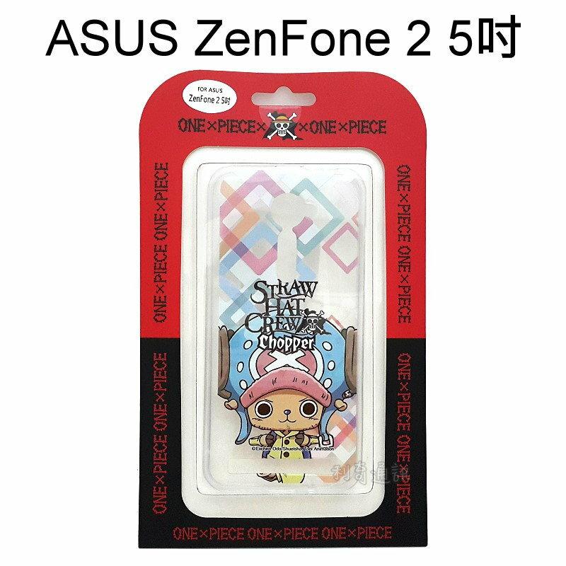 海賊王透明軟殼 [J52] ASUS ZenFone 2 ZE500CL Z00D (5吋) 航海王 喬巴【正版授權】