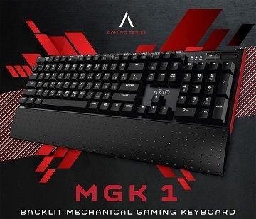 AZIO MGK1 背光機械遊戲鍵盤 ~AB0029~~ 一線大廠 亞馬遜 電競鍵盤 銷售