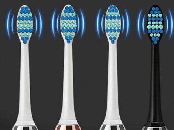 電動牙刷頭 牙刷頭 柔軟刷毛 防水牙刷刷頭 刷毛【BA0034】