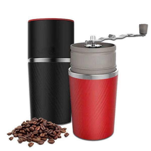 咖啡隨身杯 攜帶式手沖研磨咖啡杯 多合一咖啡杯【BE0019】 想到就喝 移動咖啡館