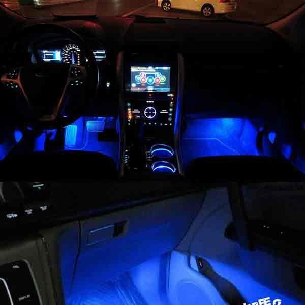車內氣氛燈 室內氛圍燈 汽車腳底燈 車內裝飾燈~AC0012~ 汽車LED燈