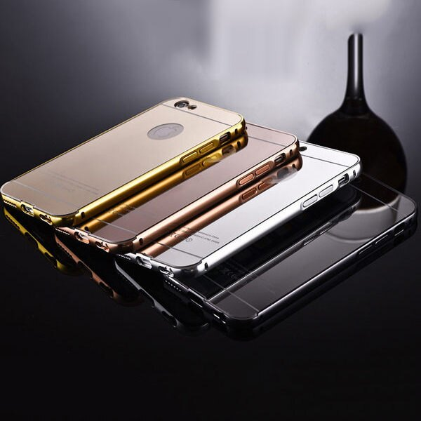 金屬邊框鏡面殼 爾【DA0001】 iPhone 6/ 6s plus HTC A9 M8 820 816 826 NOTE5 A8 J7
