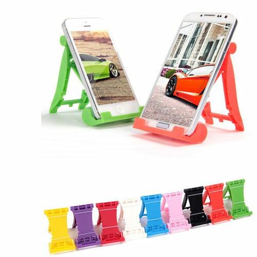 高質感F1馬卡龍手機架、手機座、平板座、手機平板支座、防滑、雙角度調整、防滑摺疊架