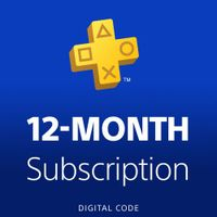 Sony PlayStation Plus 12-Month Membership Digital Code