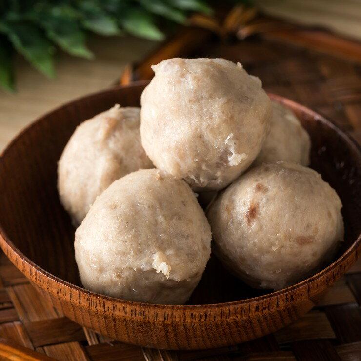 黑豬肉貢丸 (600g /包) 以傳統工法加上黑豬肉製作 家庭必備 煮湯、炒菜、配麵都好吃喔! 【鍾奶奶美味坊 】