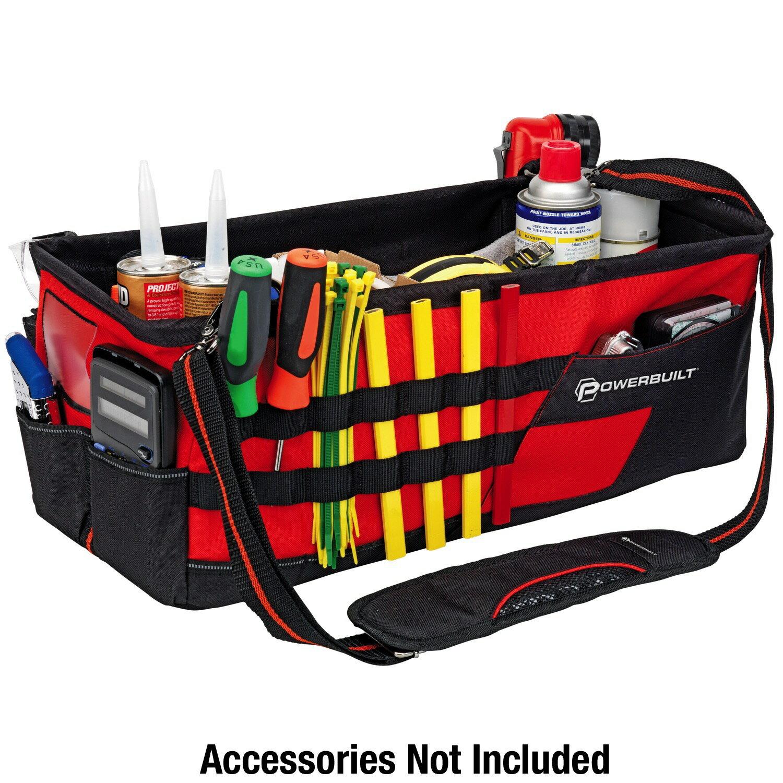 Powerbuilt 21-Inch Car Trunk Tool Storage Carrier Organizer Bag - 642412 4