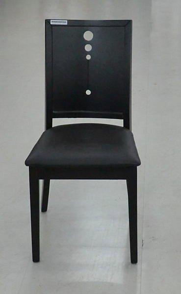 【尚品傢俱】419-08 法曲 胡桃餐椅 ~超耐用《台中市部分地區免運費》