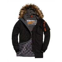 Superdry極度乾燥-男外套推薦到美國百分百【Superdry】極度乾燥 Parka 風衣 連帽外套 防風 夾克 皮草 黑色 S M L號 I813就在美國百分百推薦Superdry極度乾燥-男外套