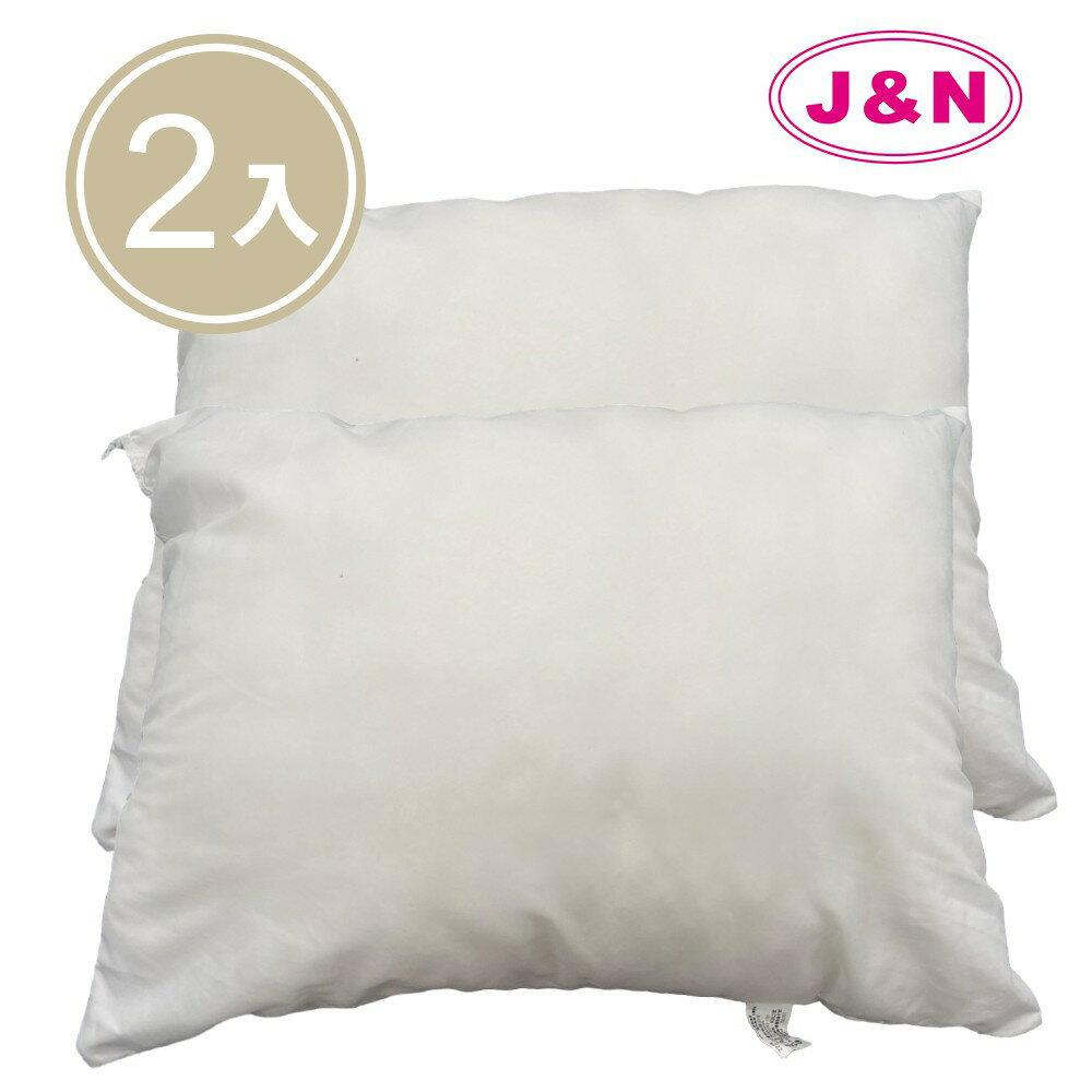 JN 【J&N】台灣製抱枕心30*45-300克(2入/ 1組)
