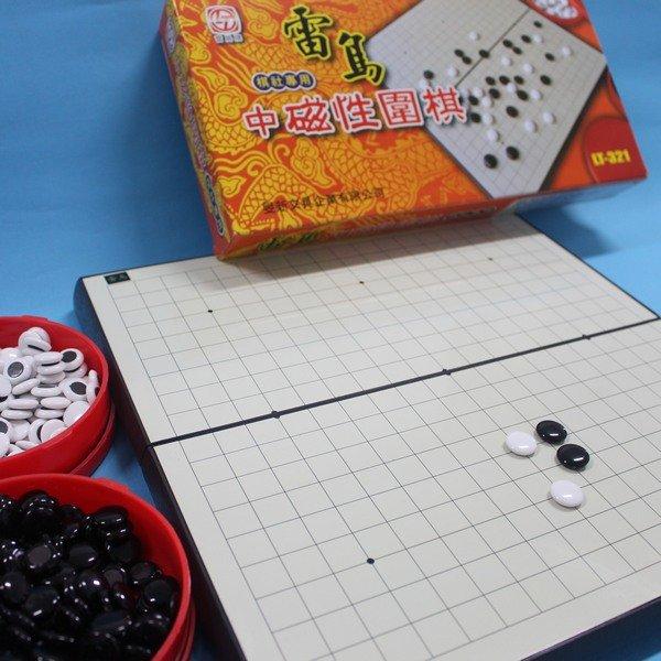雷鳥中磁性圍棋 LT~321 中磁石圍棋^(棋社 ^) 一組入^~定580^~