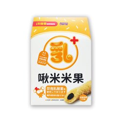 小兒利撒爾 啾米米果(乳酸菌配方)-芝麻燕麥口味(8支/盒)★衛立兒生活館★