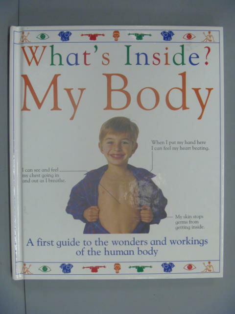 ~書寶 書T8/少年童書_ZBI~What #x27 s Inside My Body
