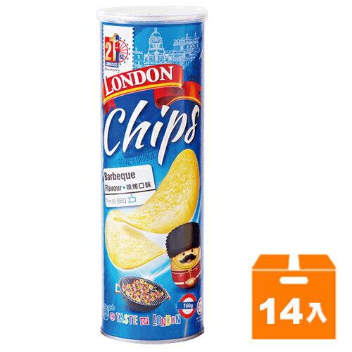 倫敦 香脆薯片-燒烤 160g (14入)/箱