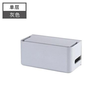 路由器收納盒壁掛式架子wifi盒子收納掛牆無線路由器盒子收納盒【MJ10369】