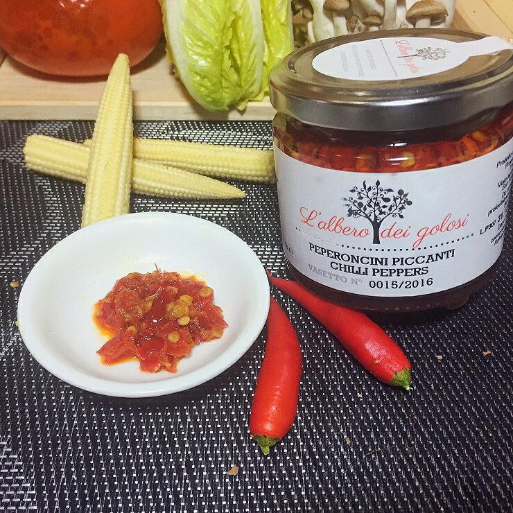 特級初榨橄欖油浸泡辣椒醬 義大利進口 滿滿辣椒170公克