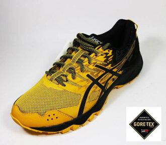 ASICS 亞瑟士GEL-SONOMA 3 男 防水GORE-TEX 輕量 越野 慢跑鞋 T727N-0490(黃x黑)[陽光樂活]