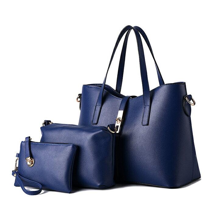 歐美時尚經典簡約氣質包中包三件組 #KLY8884 0