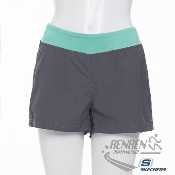 SKECHERS 女慢跑短褲
