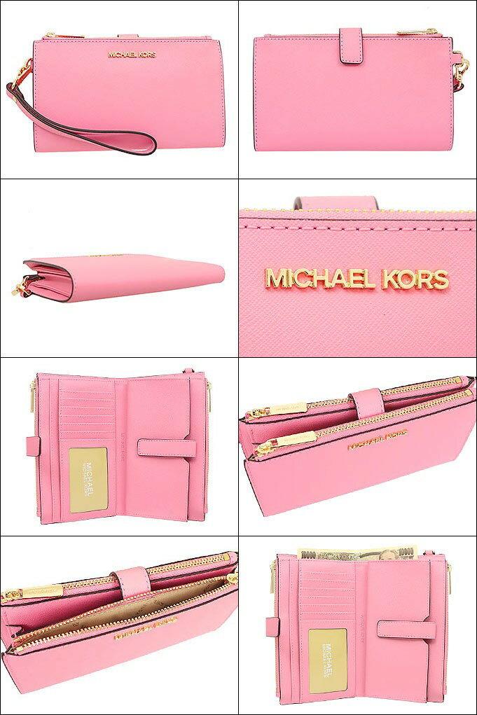 MICHAEL KORS 手機包 皮夾 手拿包 十字紋防刮真皮皮革 長夾 M34308 MK(現貨)