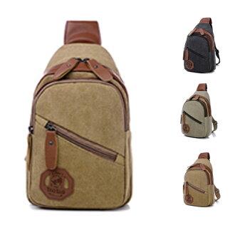 後背包-環保休閒帆布 舒適上課外出包 包飾衣院 P1627 現貨