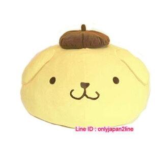 【真愛日本】軟棉柔包子麵團抱枕-布丁狗三麗鷗家族 布丁狗抱枕娃娃擺飾