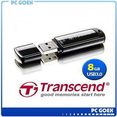 創見 JetFlash 700 8GB USB3.0 黑 隨身碟☆pcgoex軒揚☆