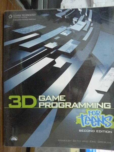 【書寶二手書T8/電腦_PMZ】3D Game Programming for Teens_2/e