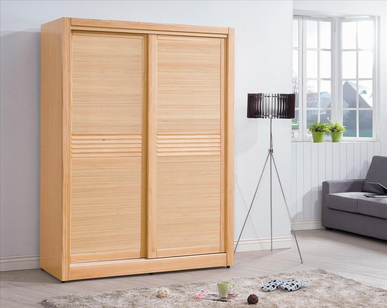 【石川家居】CE-159-05 羅本北歐全實木5*7尺衣櫥 (不含其他商品) 需搭配車趟