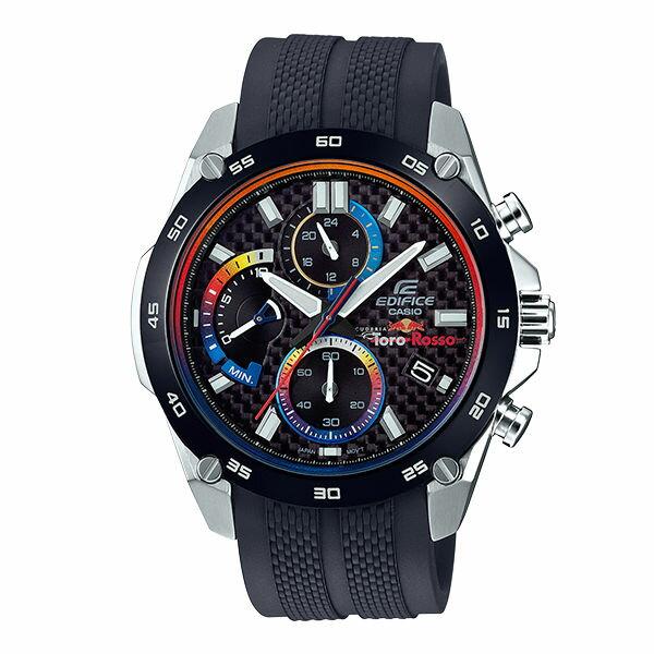 CASIO卡西歐EDIFICEEFR-557TRP-1ASCUDERIATOROROSSO聯名錶款腕錶46.7mm
