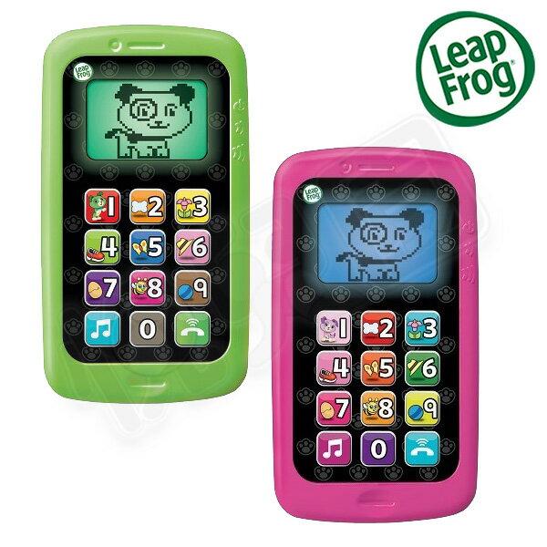 Leap frog 跳跳蛙 聰明數數小手機 (綠/ 桃紅)【悅兒園婦幼生活館】