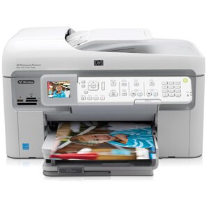 HP Photosmart Premium C309A Multifunction Photo Printer - Color - 33 ppm Mono - 32 ppm Color - 17 Second Photo - 9600 x 2400 dpi - Fax, Copier, Scanner, Printer 1