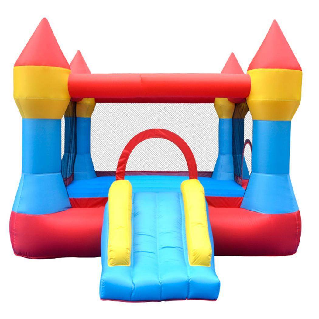 Kids Bounce House Jumper Castle Inflatable Bouncer Without Blower 1