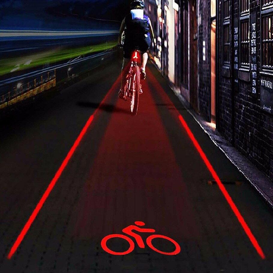 自行車激光尾燈 騎行安全警示燈 腳踏車尾燈 尾燈 激光鐳射