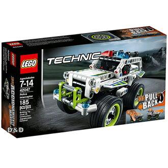 樂高積木LEGO《 LT42047 》2016 年 Technic 科技系列 - 警用攔截機