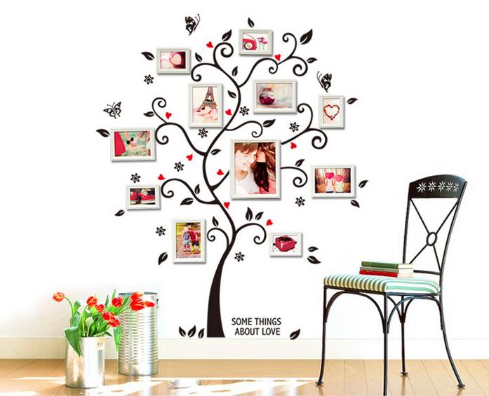 【壁貼王國】 古典系列 無痕壁貼 《幸福樹 - AY6031》