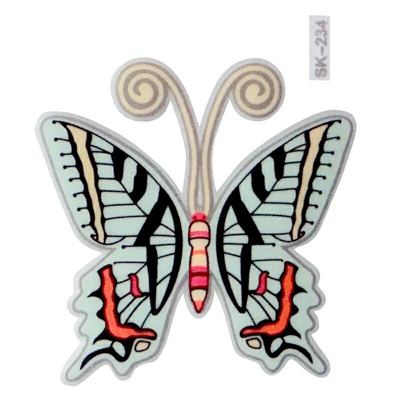 【壁貼王國】 夜光型開關系列無痕貼紙 《蝴蝶 - SK234》
