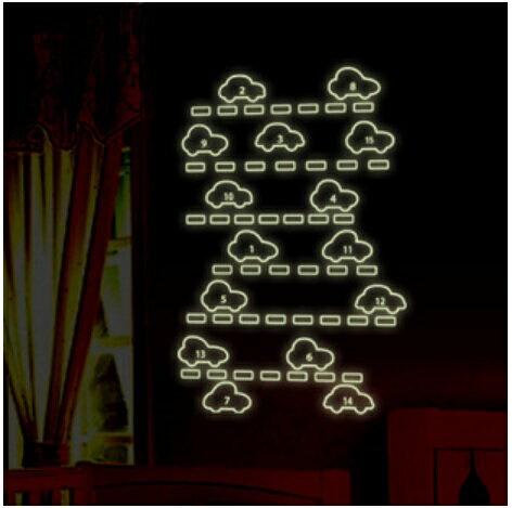 【壁貼王國】 A4夜光貼紙《 歡樂小汽車 - Y0002 》